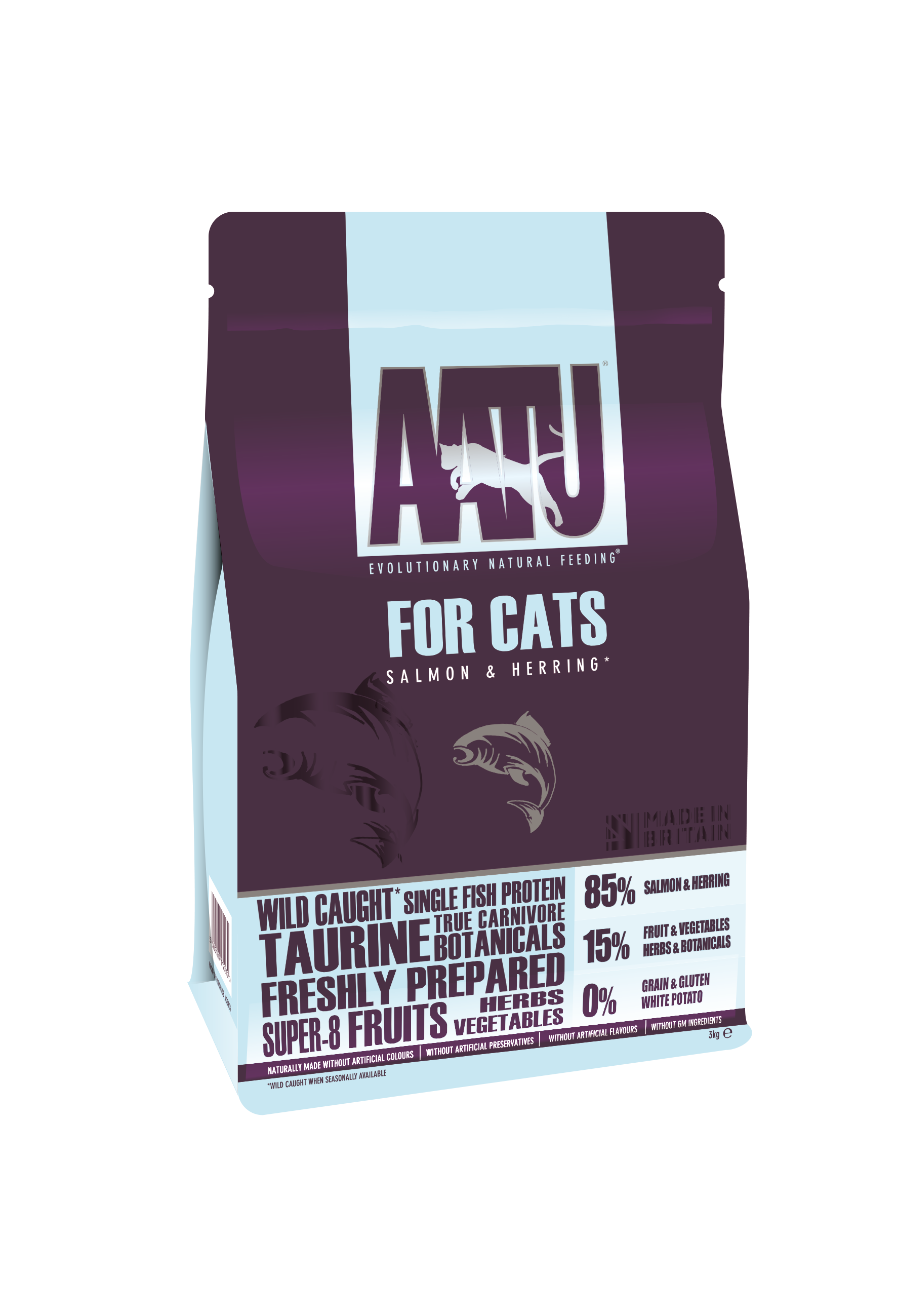 Grain Free Salmon herring cat food