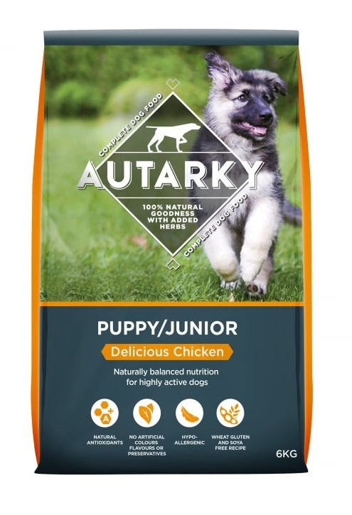 Autarky puppy chicken dry dog food