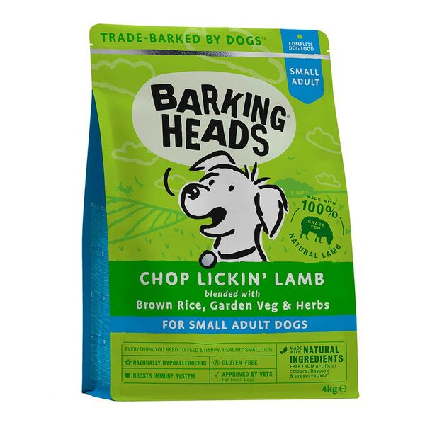 Barking Heads Small Breed Dry food
