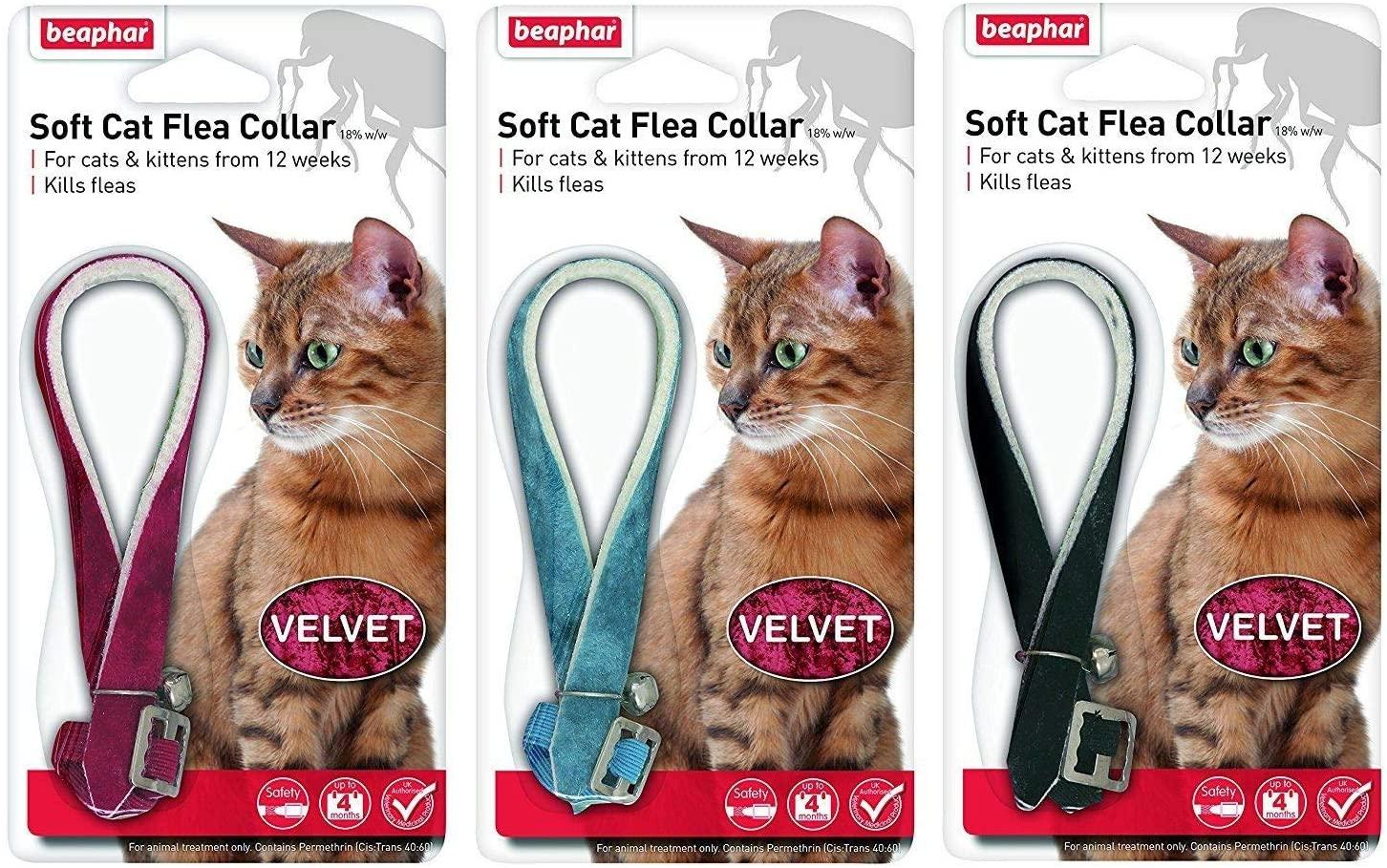 Beaphar Cat Flea Collars Velour