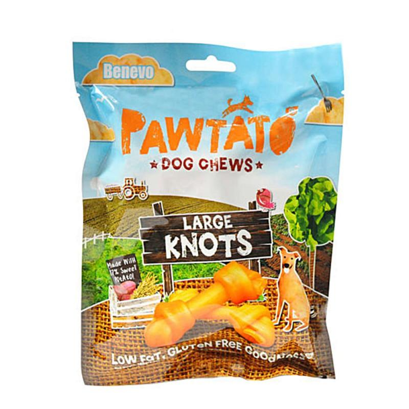 Benevo pawtato large knots