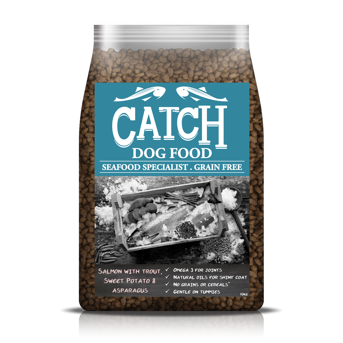 Catch Adult Salmon with Trout food