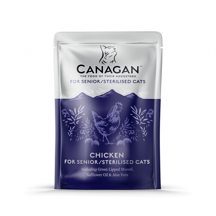 Canagan Cat Pouch chicken senior