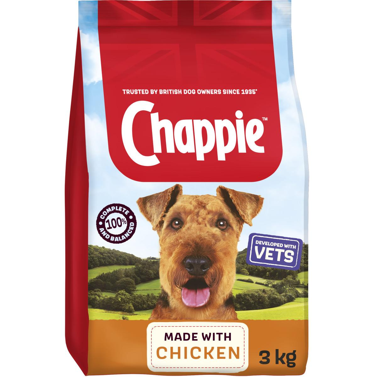 Chappie Chicken & Wholegrain food