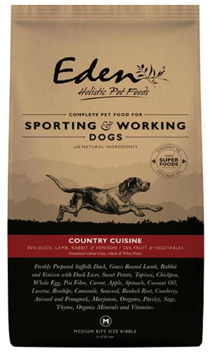 Eden Country Cuisine Working dog