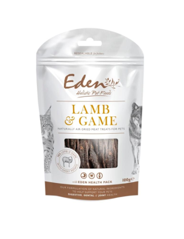 Eden Lamb and Game Treats for pets