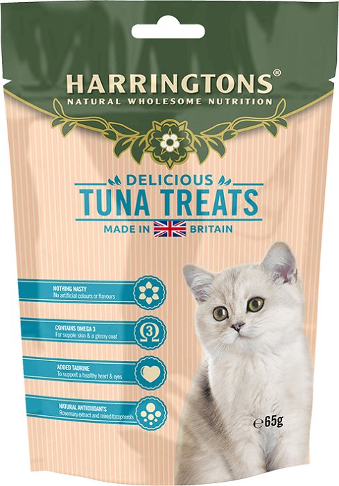 Harringtons Cat Treats with Tuna