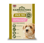 Harringtons salmon potato dog food