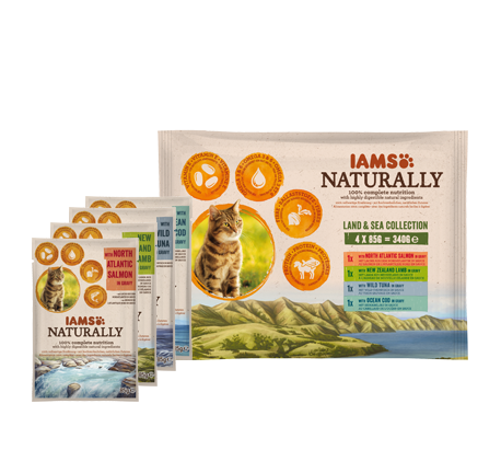 Iams Land & Sea Collection cat food