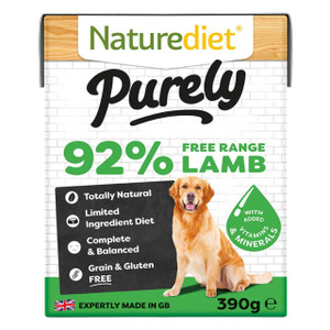 Naturediet Purely Lamb Dog Food 18 X 390g On Sale At