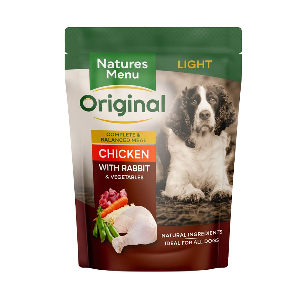 Natures Menu Light Dog Food Pouches
