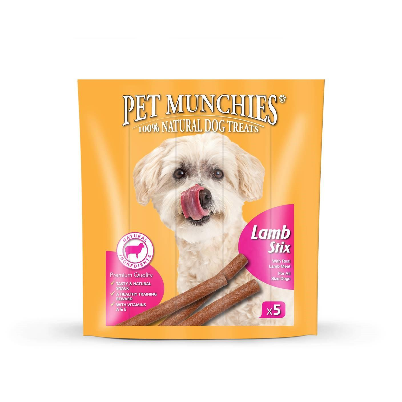 Pet Munchies Lamb Stix dog treats