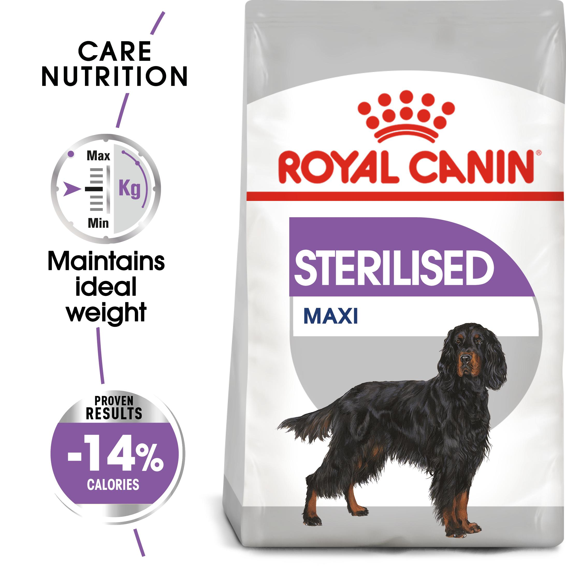 royal canin maxi sterilised care