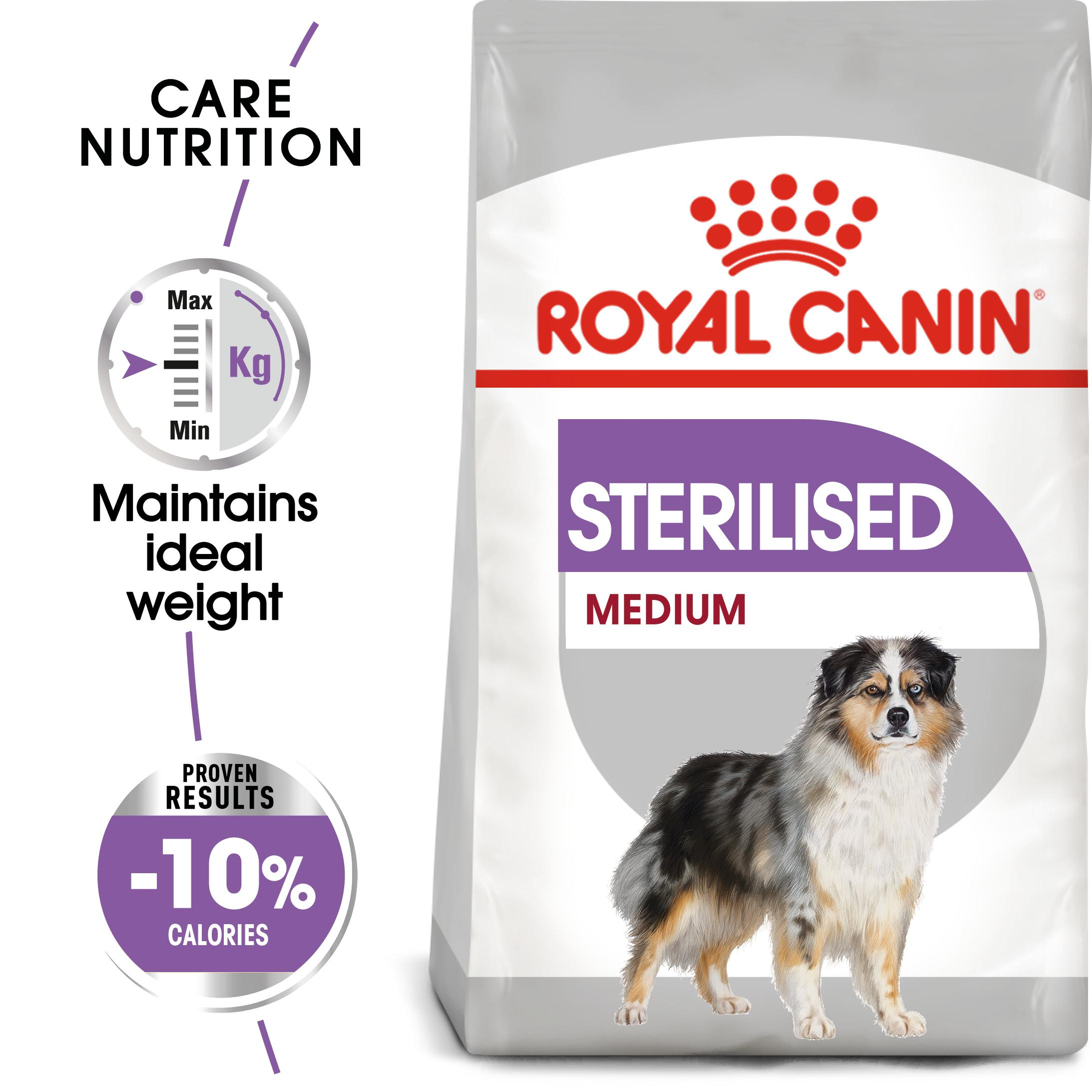 royal canin medium sterilised care