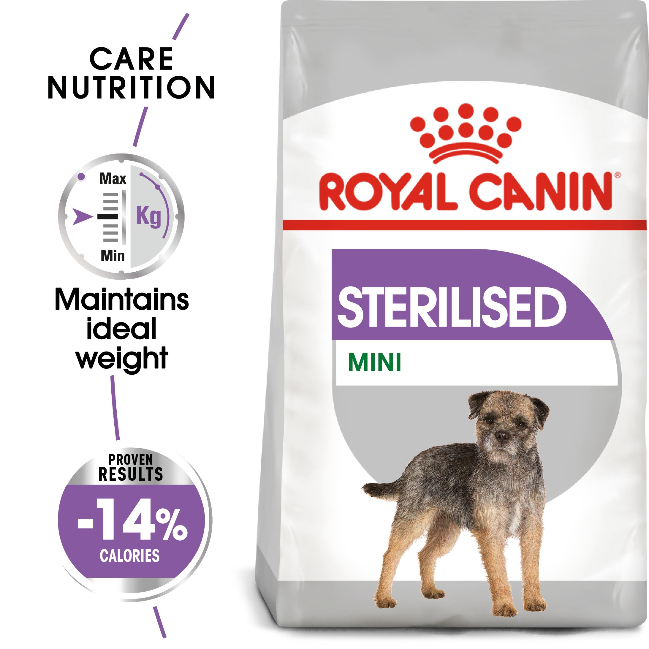 royal canin mini sterilised care