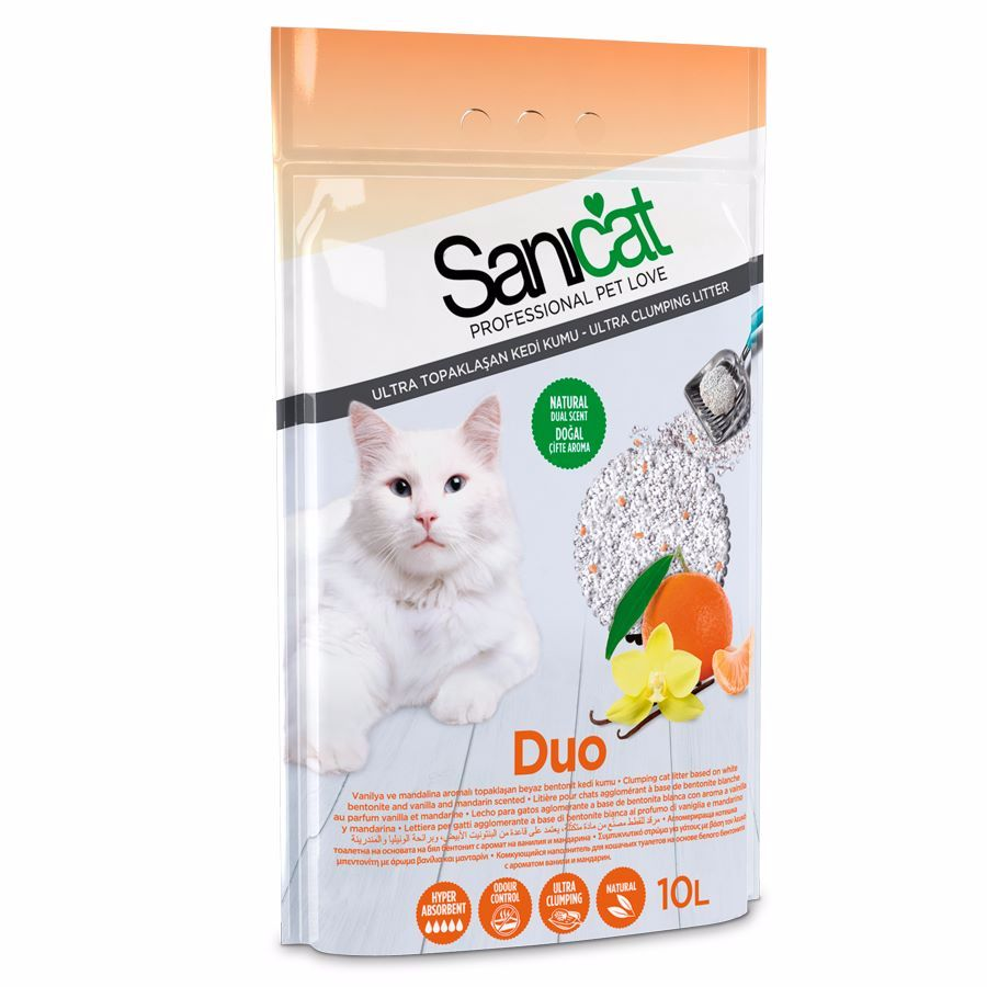 Sanicat Duo Cat Litter