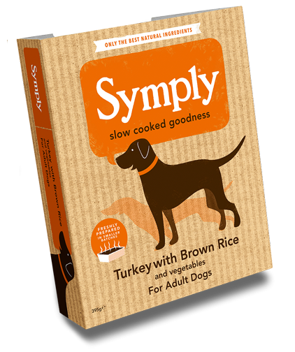 Symply Turkey, Rice & Veg Dog Food