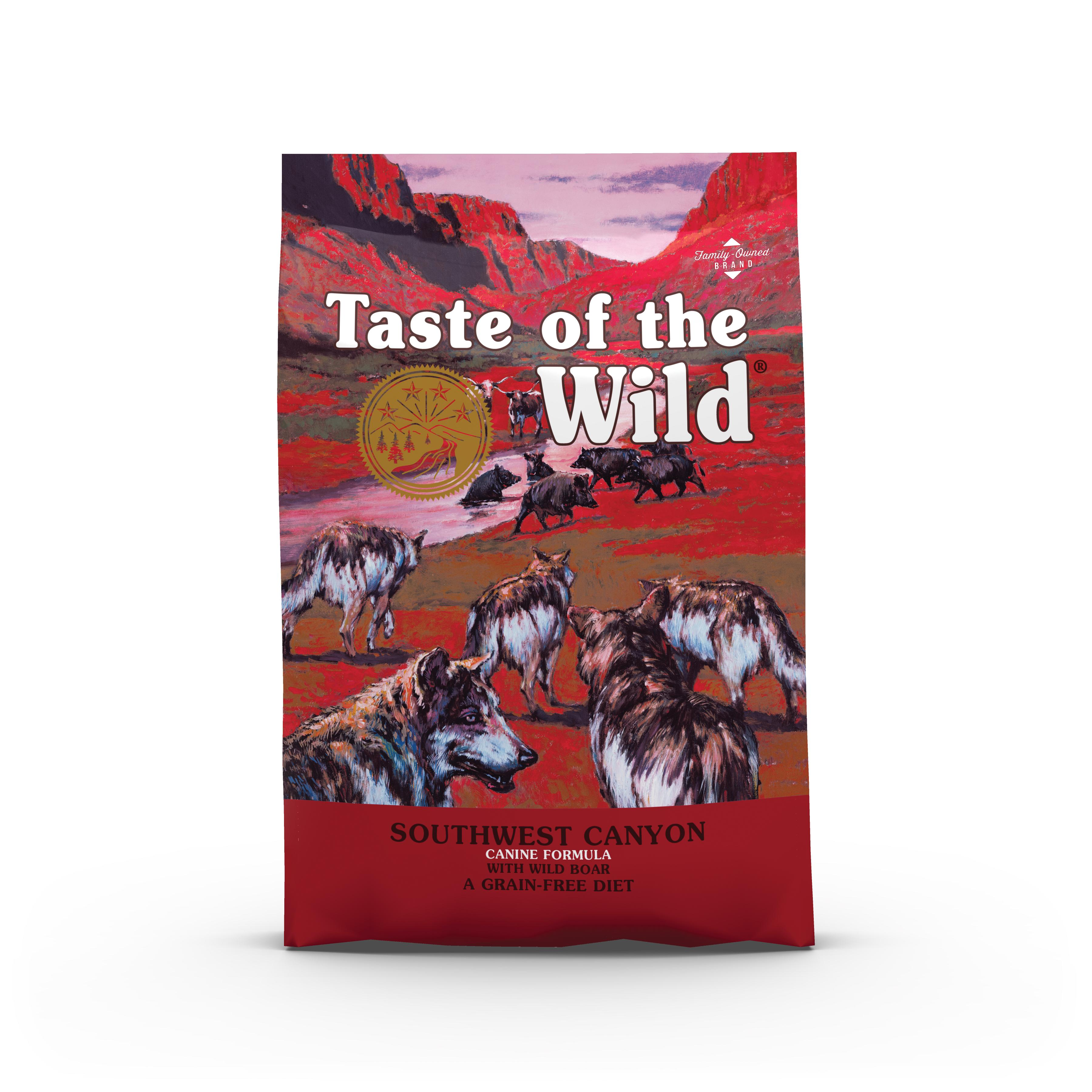Taste of the Wild canyon dog food